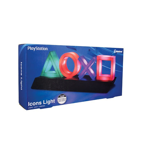 PlayStation Lampara USB Símbolos