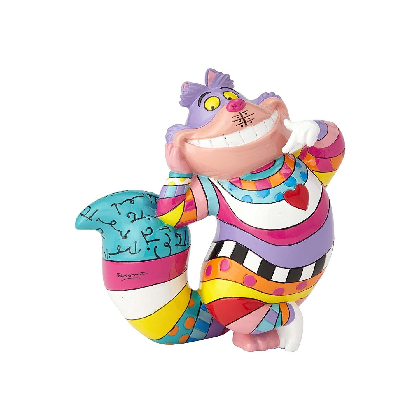 Cheshire Cat Mini Figurine by Romero Britto