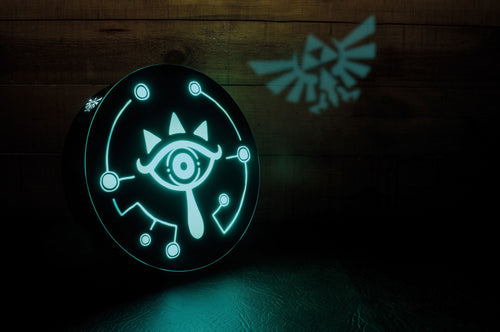 Legend of Zelda Breath of the Wild Lámpara Sheikah Eye