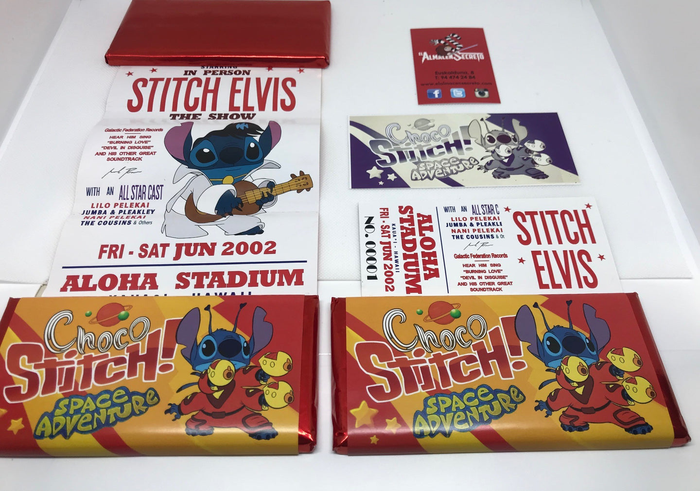 Disney Tableta de Chocolate Stitch