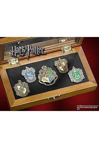 Harry Potter Set de Pins Casas de Hogwarts