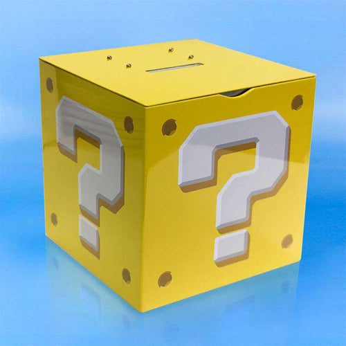 Nintendo Super Mario Hucha Question Block