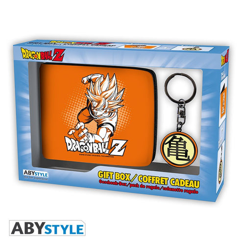 Dragon Ball Pack Cartera y Llavero Goku