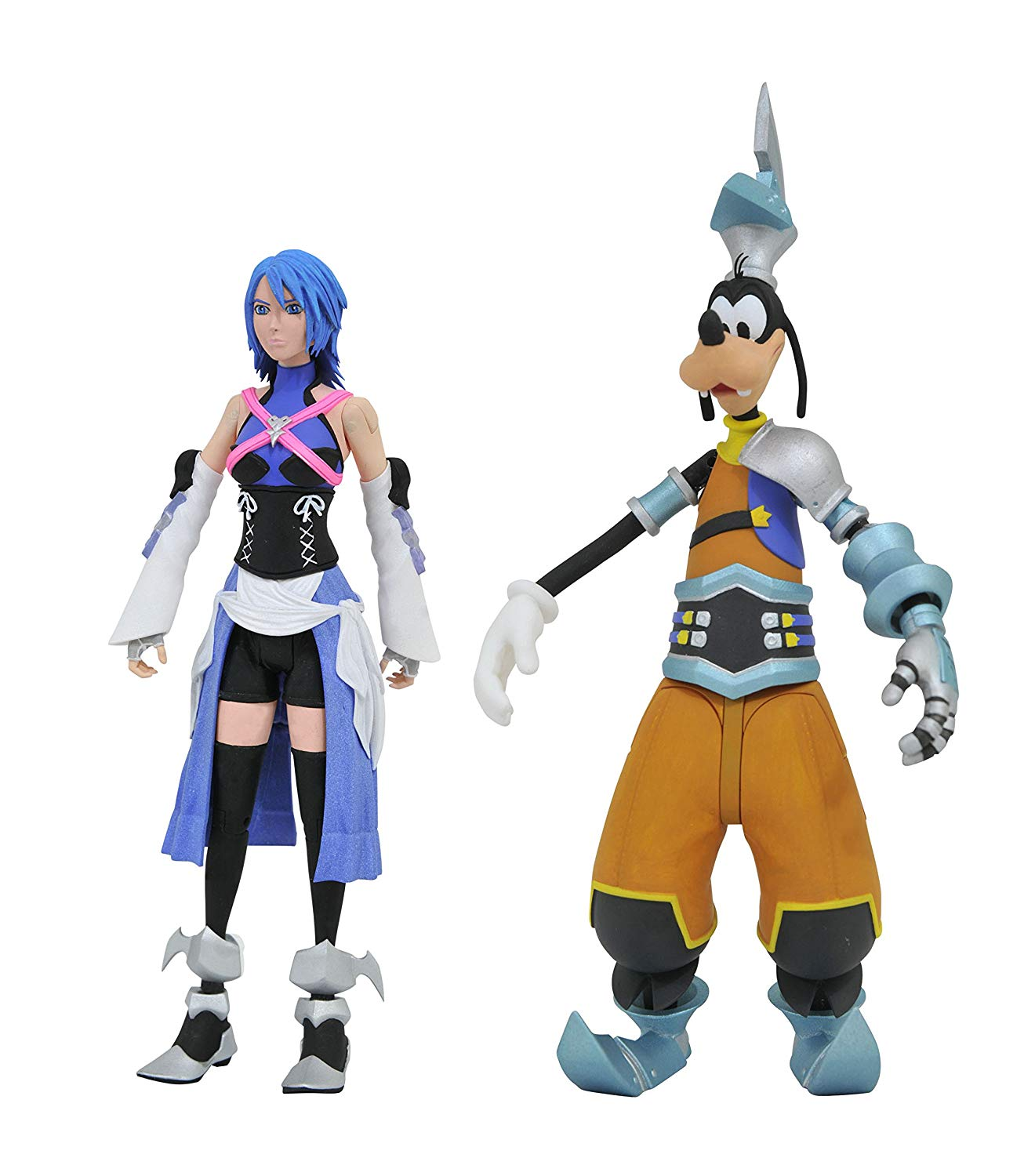 Kingdom Hearts Pack Figuras Goofy y Aqua Exclusive
