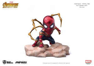 Vengadores Infinity War Figura Mini Egg Attack Iron Spider 9 cm