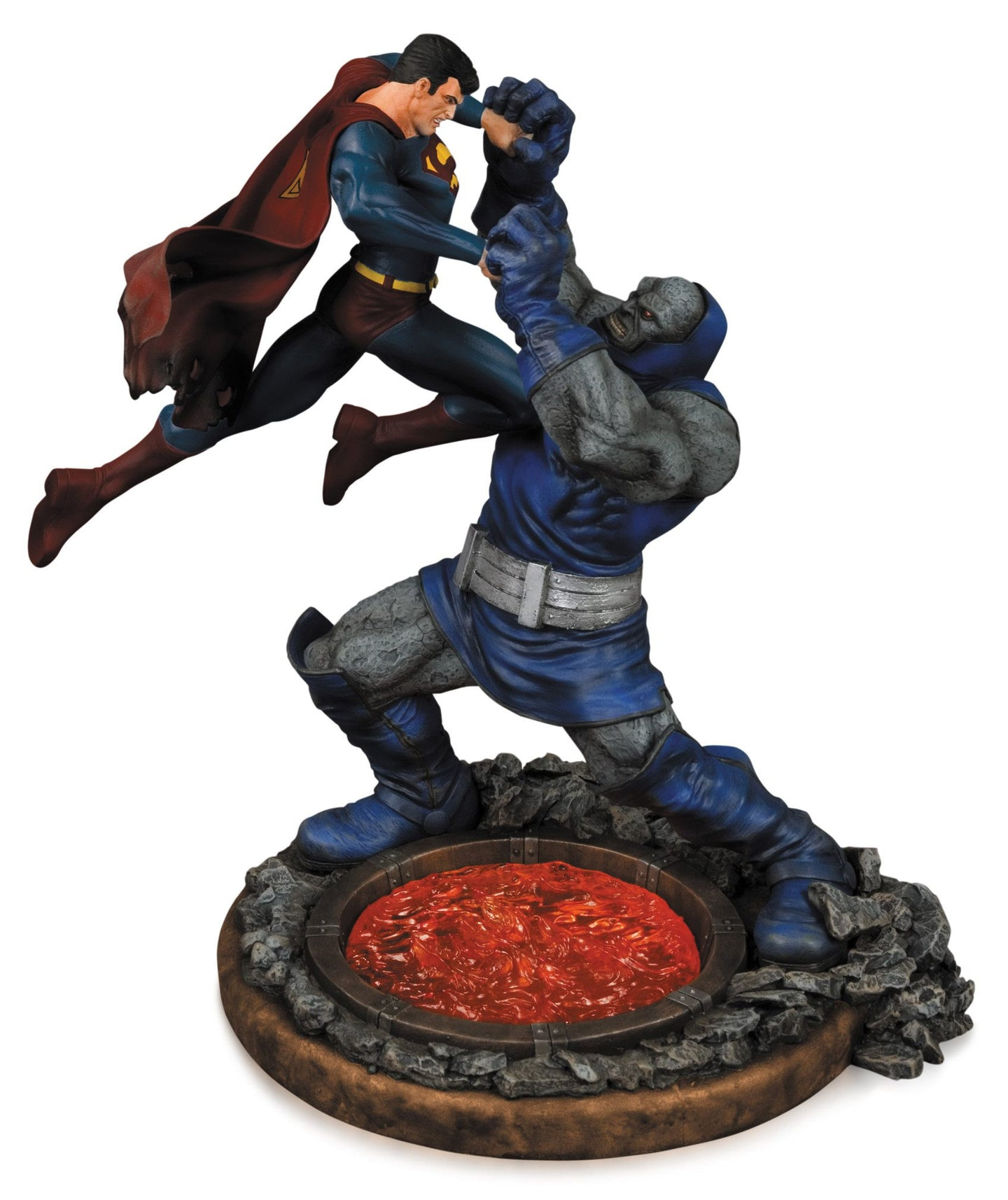 DC Comics Estatua Superman vs. Darkseid 2nd Edition