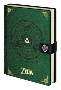 The Legend of Zelda Libreta A5 Triforce New Version