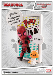 Marvel Comics Figura Mini Egg Attack Deadpool Jump Out 4th Wall