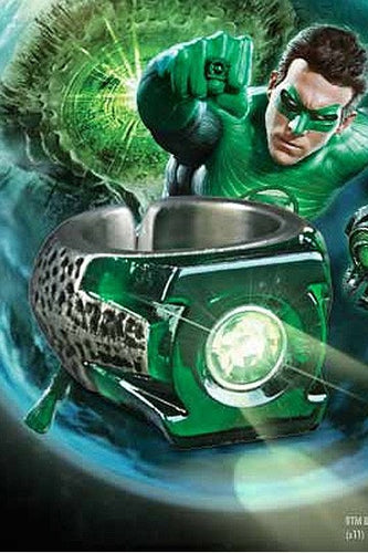 DC Comics Anillo Luminoso Green Lantern