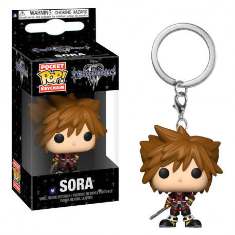 Kingdom Hearts 3 Pocket Pop! Keychan Sora
