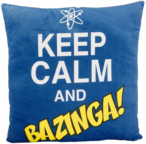 Big Bang Theory Cojín Keep Calm and Bazinga