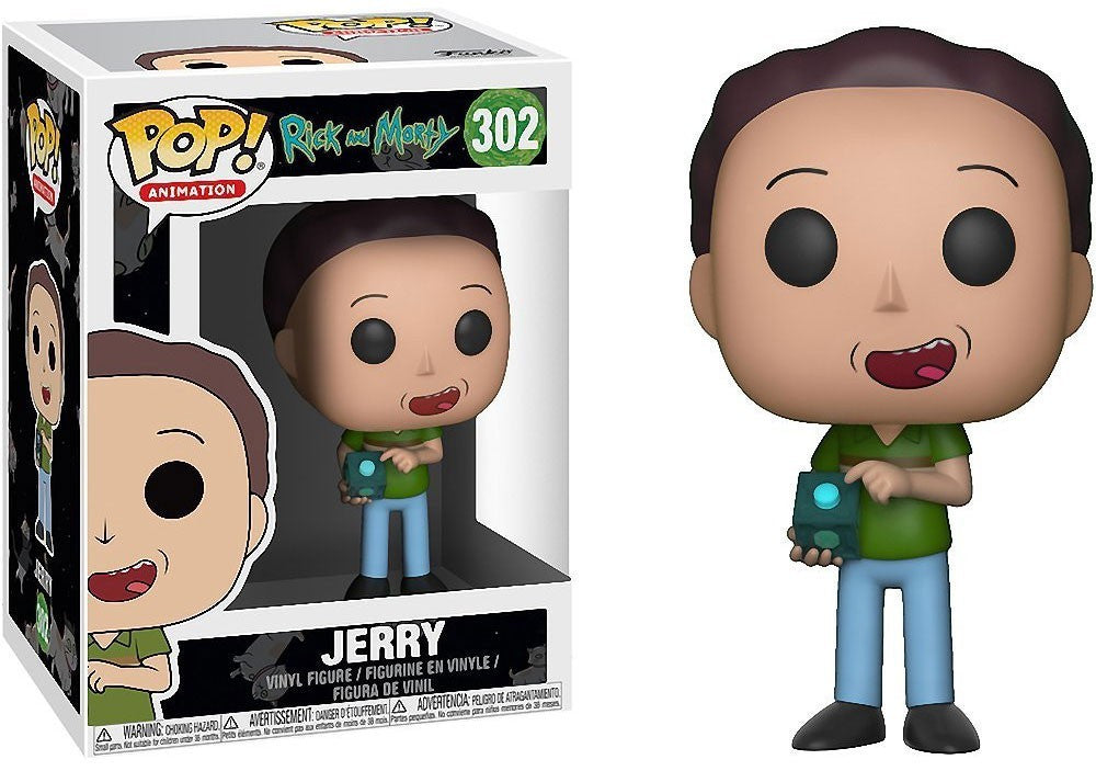 Rick And Morty Pop! Vinyl Jerry