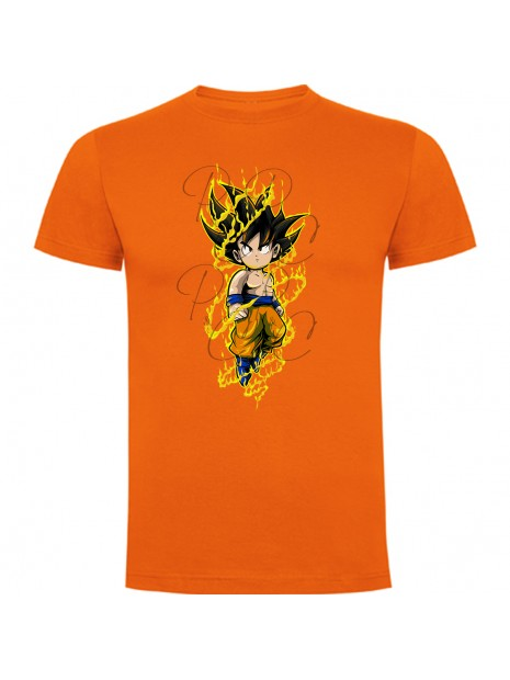 Dragon Ball Camiseta Saiyan