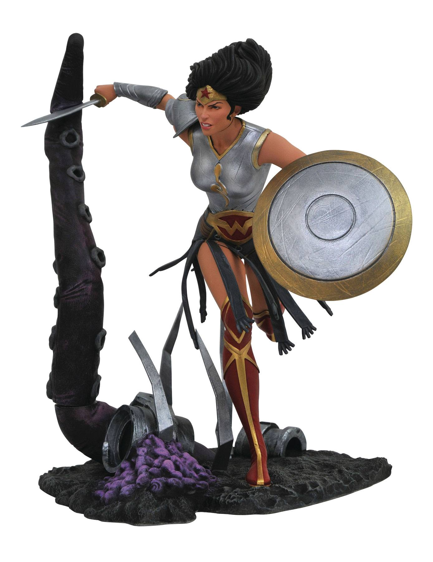 DC Comic Gallery Estatua Dark Nights Metal Wonder Woman
