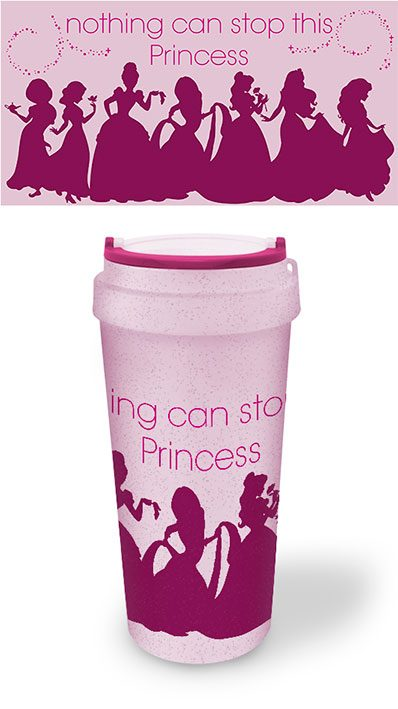 Disney Taza de Viaje Ecologica Nothing Can Stop This Princess