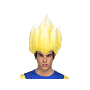 Dragon Ball Peluca Cosplay Adulto Super Saiyan Vegeta