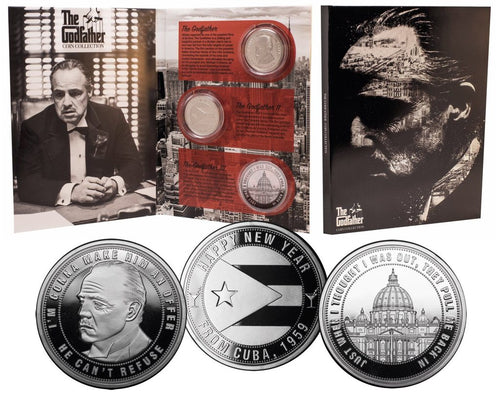 El Padrino Collection Pack de 3 Monedas Limited Edition