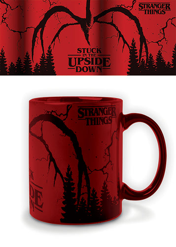 Stranger Things Taza Metallic Mind Flayer