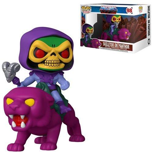 Master of Universe POP! Rides Vinyl Skeletor on Panthor