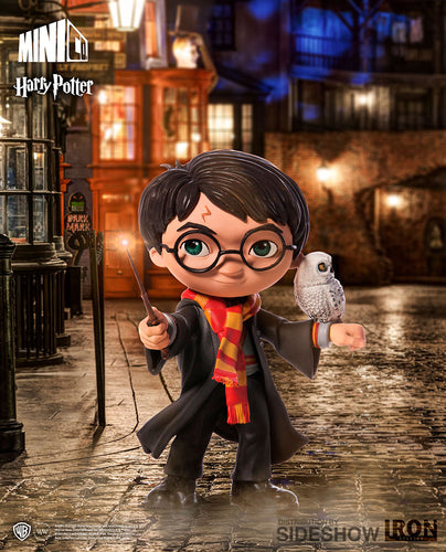Harry Potter Figura Mini Co Harry con Hedwig