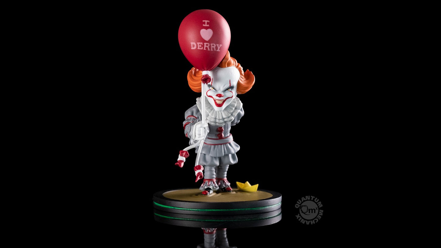 Stephen King's It Figura Q-Fig Pennywise I Love Derry