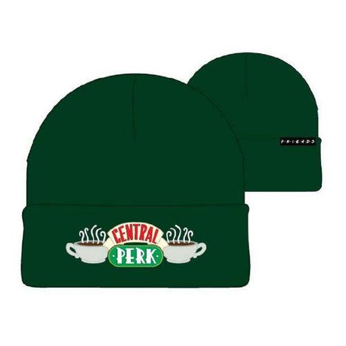 Friends Gorro de Lana Logo Central Perk Verde