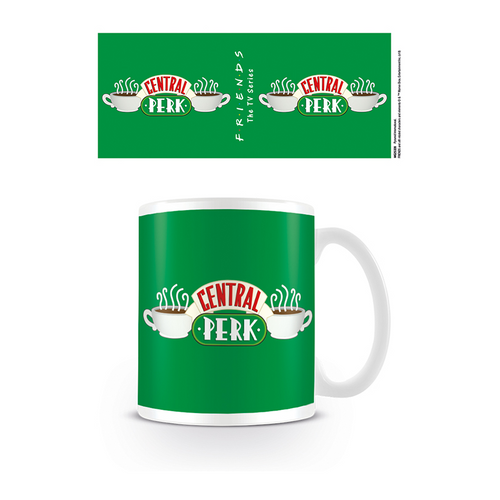 Friends Taza Logo Central Perk Verde