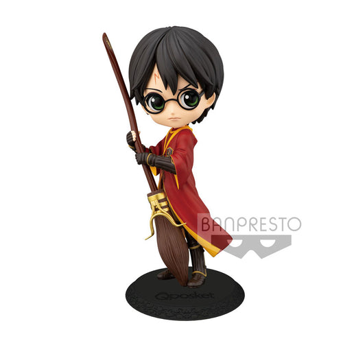 Harry Potter Figura Q Posket Harry Potter Quidditch