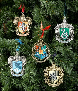 Harry Potter Set Adornos Navideños Hogwarts