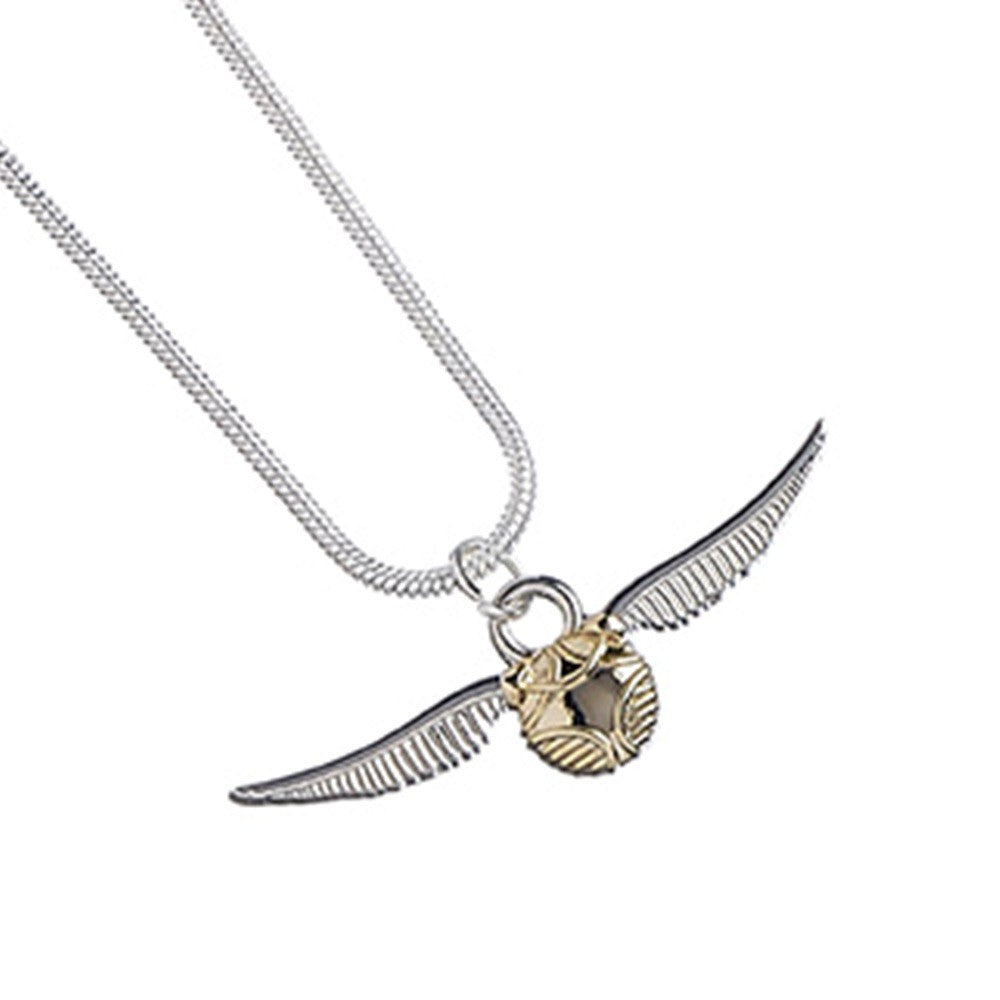 Harry Potter Collar con Colgante Snitch Dorada