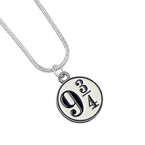 Harry Potter Collar con Colgante Platform 9 3/4