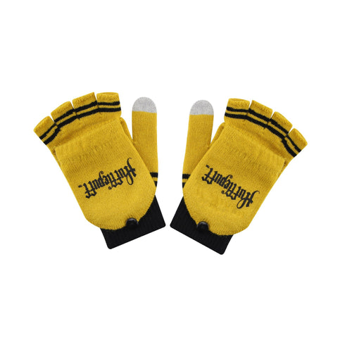 Harry Potter Guantes Mitones Hufflepuff