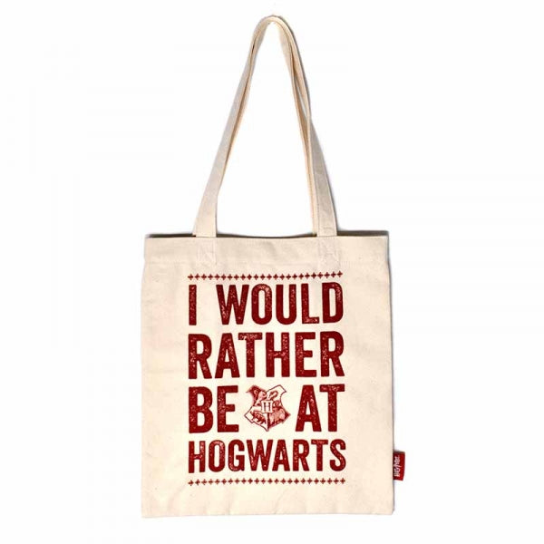 Harry Potter Shopping Bag Hogwarts Slogan