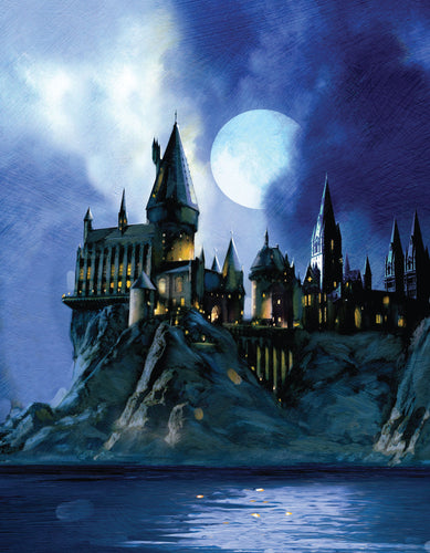 Harry Potter Tarjeta De Felicitación pop-up 3D Hogwarts