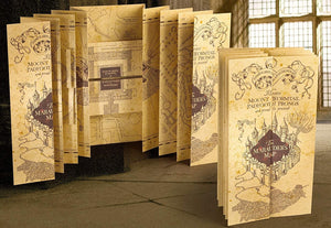 Harry-potter-Replica-Mapa-del-Merodeador-Plegado