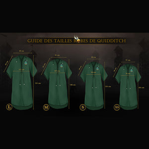Harry Potter Tunica de Quidditch Slytherin