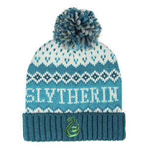 Harry Potter Gorro Pompon Slytherin