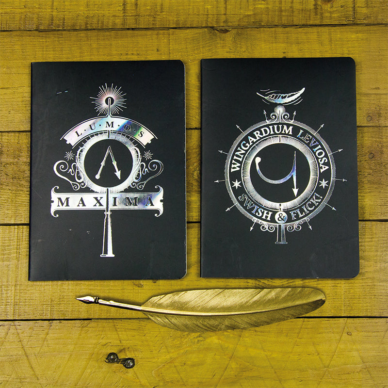 Harry Potter Pack de Libretas Hechizos