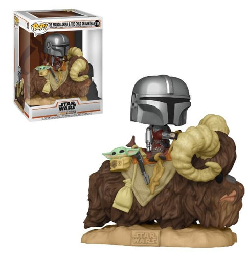 Star Wars Mandalorian POP! Deluxe The Mandalorian on Bantha