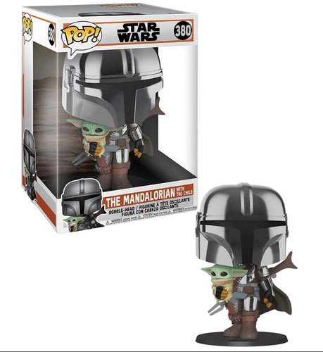 Star Wars Mandalorian Super Sized POP! The Mandalorian 10