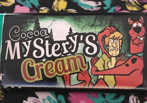 Scooby Doo Tableta de Chocolate Cocoa Mystery's Cream