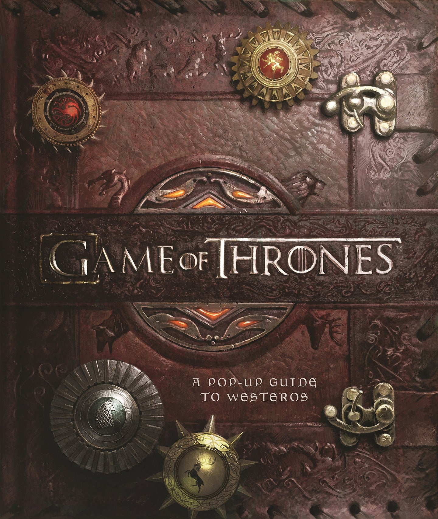 Juego de Tronos Libro pop-up 3D A Pop-Up Guide to Westeros (ed. ingles)