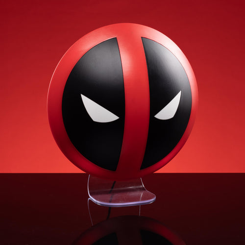 Deadpool lámpara 3D Logo