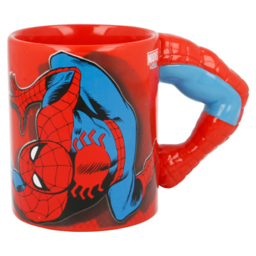 Marvel Comics Taza Asa Brazo Spiderman parte comic