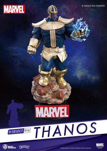 Marvel Diorama PVC D-Select Thanos