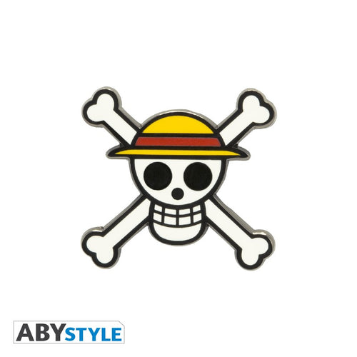 One Piece Pin Logo Piratas