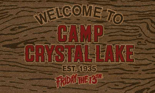 Viernes 13 Felpudo Welcome to Camp Crystal Lake