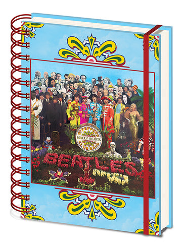 The Beatles Libreta A5 Wiro Sgt. Peppers