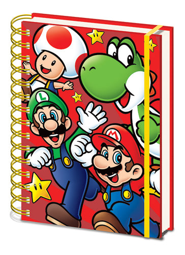 Super Mario Libreta A5 Wiro Run