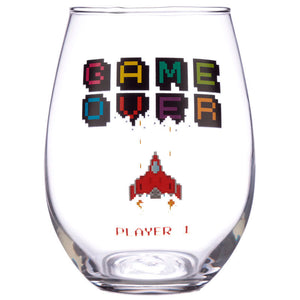 Set de 2 Vasos Game Over